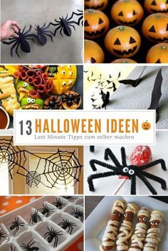 halloween snack ideen bl tterteig mumien deko food. Black Bedroom Furniture Sets. Home Design Ideas