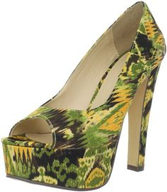 It's a Jungle Out there! Roaaar! Katal Open Toe Pump: Shoes