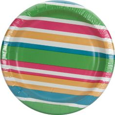 Nice colorful paper desert plates.  sc 1 st  Pinterest : colored paper plates - pezcame.com