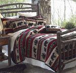 Bear Adventure Fleece Bed Set - Queen