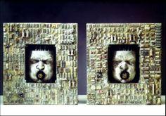 Dizzy 1998, legno, gesso, circuiti, Emanuele Giannelli http://musapietrasanta.it/content.php?menu=artisti