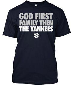 God, Family, Yankees   Teespring
