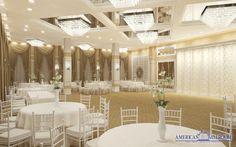 Salonul Miami este locul unde stilul, luxul și rafinamentul se îmbină armonios într-un spațiu special conceput pentru organizarea evenimentelor memorabile. Cu o suprafață totală de 300 mp și o capacitate maximă de 170 de locuri la mese, salonul nostru răspunde tuturor clienţilor care ne aleg pentru evenimentul special din viaţa lor, cu o vastă experienţă organizatorică, atenţie sporită asupra tuturor detaliilor şi servicii profesioniste.