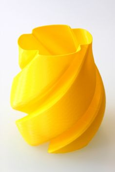 Craftbot Review - vase printed in PLA. #3dprinting #CraftBot
