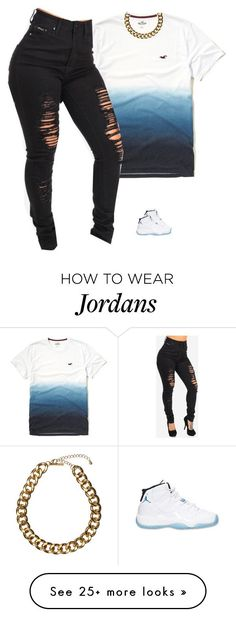 """Untitled #749"" by prettygirlnunu on Polyvore featuring Hollister Co., Retrò and Club Manhattan"