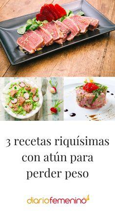 ¿Te gusta el atún? Estas recetas están deliciosas y encima te ayudarán a adelgazar 😋  #recetas #recipes #healthylife #adelgazar #recetasfáciles #recetassanas #DiarioFemenino