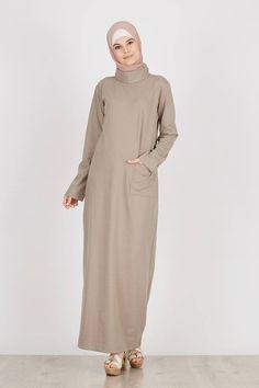 Sell Janet Dress Dark Grey Dresses-and-jumpsuit | Hijabenka.com