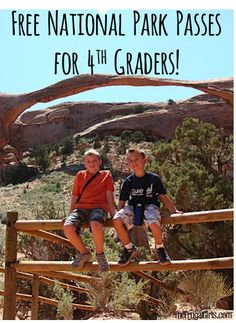 Free National Park Passes for 4th Graders!  The perfect excuse to get out and explore some National Parks this year with your family! | TheFrugalGirls.com