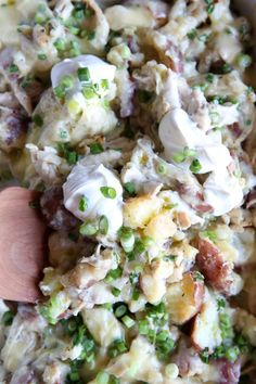 Ranch Chicken & Potato CasseroleDelish