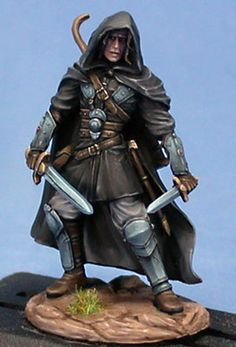 Young Hedge Knight - Dual Wield - Miniature Lines