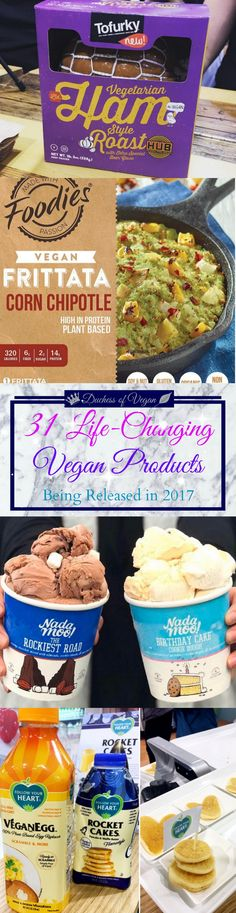 New Vegan Products | RECIPE by Duchess of Vegan