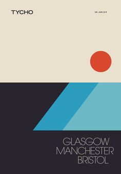 Another addition to the European Tour Tycho is currently doing. This is quite lovely and makes me think back to the cassette era.