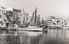 Chania / Crete - Information about the City & Prefecture of Chania - © CRETA deluxe - - Crete Chania, Heraklion, Old Time Photos, Old Pictures, Benaki Museum, Tree Identification, Crete Island, Greek Culture, Simple Photo