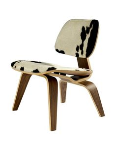 50% OFF Control Brand Molded Plywood Lounge Chair, Pony/Natural