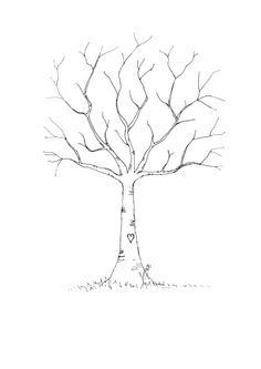 INSTANT DOWNLOAD Baby Shower Fingerprint Tree by