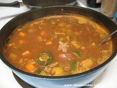 Dwenjang Jigae 된장 찌개 (Soybean Paste Stew w Ground Pork)   OliviaJasonKim
