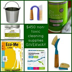 Clean up your cleaners and enter for a chance to win a non-toxic cleaning kit
