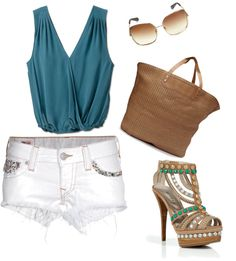 Sexy Summer Style, created by darachamberlain on Polyvore