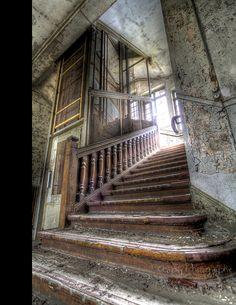 Stairs --La Découverte by Ckopsy_Photography, via Flickr