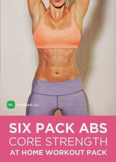 Six Pack Abs Core Strength at Home Workout!