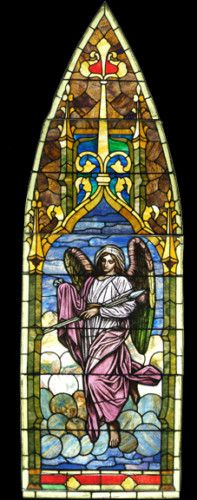 Tiffany's Swedenborgian Angels : Stained Glass Windows Representing the Seven…