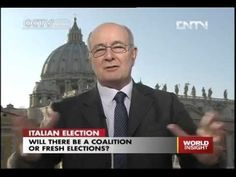 Part 2, President Pavoncello of John Cabot University speaks on China's CCTV English on Italian Elections 2013