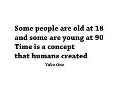 wisdom from Yoko Ono