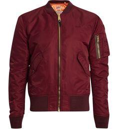 Bomber American College de Schott, 170€. Sélection des vestes pour  affronter l automne avec style - TheChemistry c5c803133188