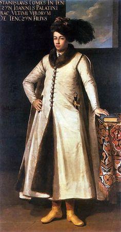 Portrait of Polish noble Stanisław Tęczyński by Tomaso Dolabella,1633-34