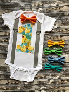 d618a6d6c Boy's rubber duck first birthday outfit/ personalized onesie/ 1st birthday  ducky cake smash onesie