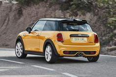 #MINI Cooper 2014 rear cornering