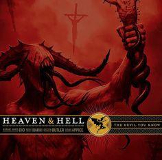 Post sobre o CD The Devil You Know do Heaven (tbm conhecido como Black Sabbath - era DIO), lançado em 2009 com músicas inéditas.