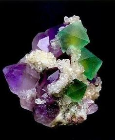 Chinese amethyst and fluoride