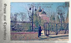 Greetings from Chernivtsi I (Postcard Imitated)