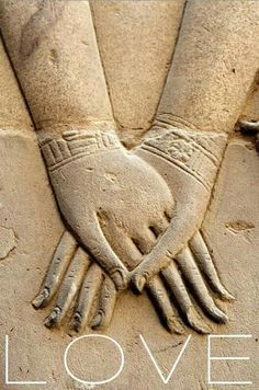 ❤ in Ancient Egyptians.