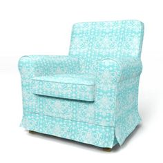 Jennylund Armchair cover with piping - Armchair Covers   Bemz