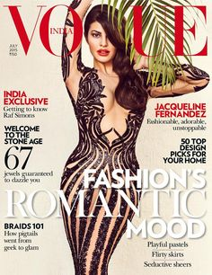 Buy #Vogue India Magazine & get 30% Discount + L'Oréal Paris UV Perfect Advanced 12H protector worth INR 1,900. #vogueindia #jacqueline