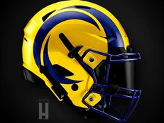 Artist Reveals Absolutely Incredible Helmet Designs For All 32 NFL Teams – Page 29 New Nfl Helmets, Cool Football Helmets, New Helmet, Helmet Logo, Nfl Football, American Football, 32 Nfl Teams, Falcon Logo, Nfl