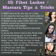 How to get the most out of your 3d fibre lashes  www.youniqueproducts.com/DonnatellaS