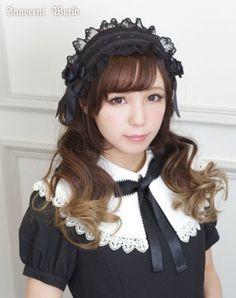 Rose Ribbon Headdress