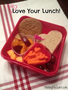Lunch Made Easy: Love in a Lunchbox!  (Ideas for Kids School Lunches)