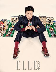 Ji Jin Hee - Elle Magazine October Issue '14