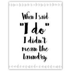 Picture it on Canvas 'Laundry Room Poster- I Do' Textual Art on Paper
