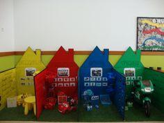 """Projeto """" O Mundo das cores""""- amarelo/ vermelho/ azul/ verde."""