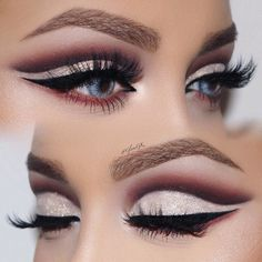 The ideal makeup for blue eyes is the one that involves the shades that can enhance their beauty.