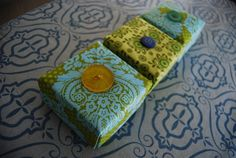 fabric boxes | Fabric Origami Boxes – Sewing Projects | BurdaStyle.com