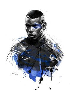 Two illustrations of Paul Pogba,superstar of french soccer team for ESPN Magazine. Art Football, Football 2018, Soccer Art, Football Match, Soccer Teams, Paul Pogba, Cr7 Messi, Lionel Messi, Pogba Wallpapers