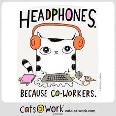 Need I say more? ^__^ cats-at-work.com
