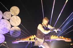 May 14 – William Close Plays His Earth Harp on TV