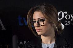 Blanca Suarez con gafas negras | moda tendencias optica